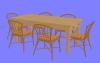 食卓セットD01.m3d