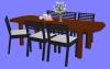 食卓セットD02.m3d