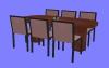 食卓セットD03.m3d