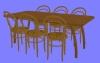 食卓セットD04.m3d